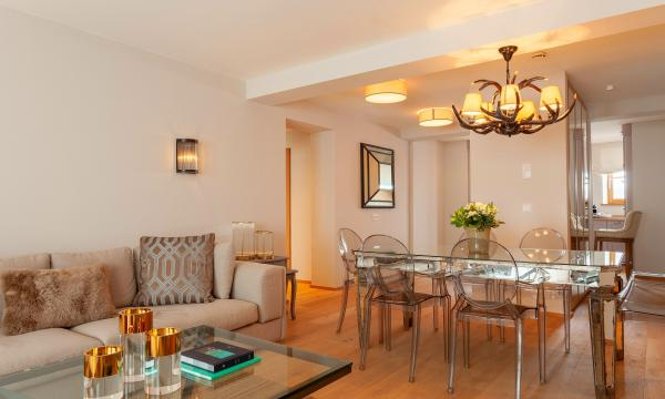 Thurnher's Residences - Apartment 2 - Wohnzimmer